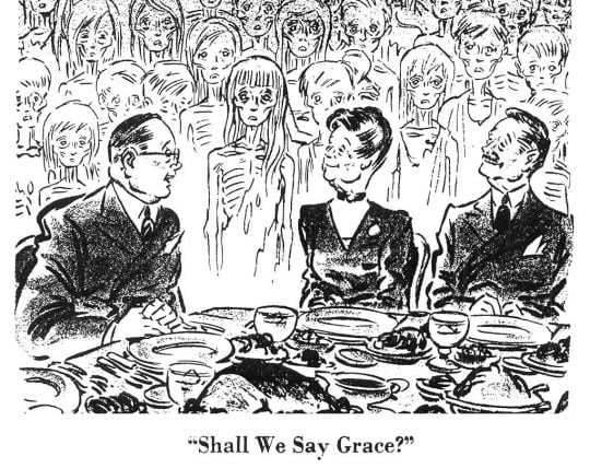 Shall We Say Grace?