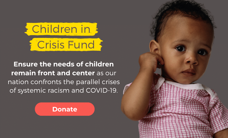 Ensure the needs of children remain front and center.
