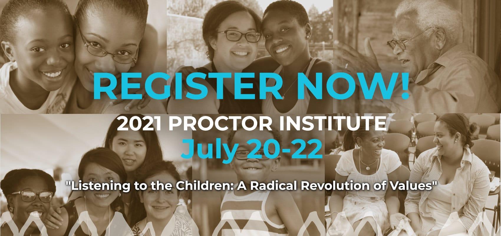 Register now for the 27th Annual CDF Samuel DeWitt Proctor Institute